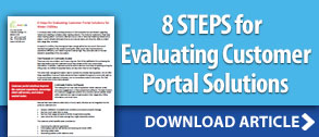 8 Steps for Evaluating Customer Portal Solutions